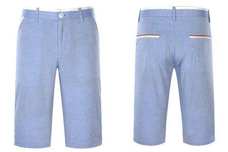 男装修身微弹水洗休闲中裤HKMCJ2A091A