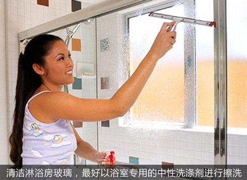 淋浴房知识:如何清洁淋浴房玻璃
