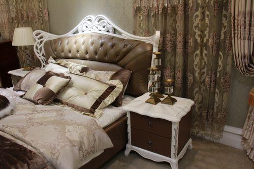 产品评测:南方家居欧式真皮软床