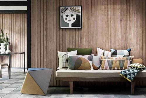 木纹铝方通墙面装修