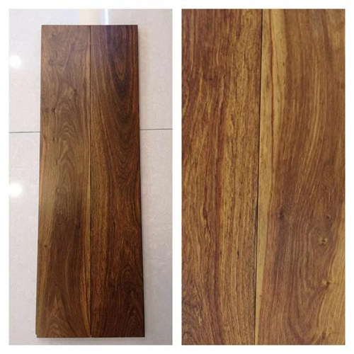 产品评测:安信非洲花梨实木地板