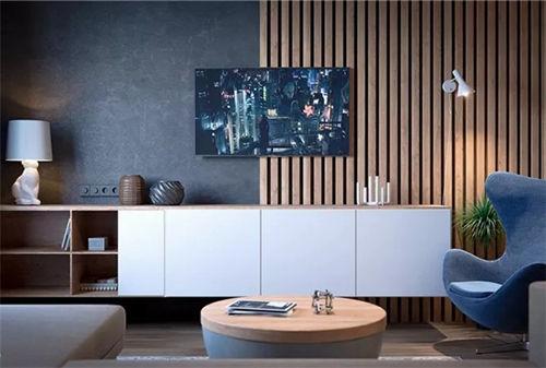 用个性化设计 让你家的电视背景墙成为视觉焦点