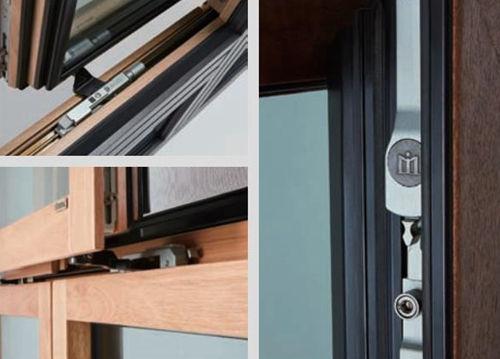 产品测评:MILUX系统铝包木内倒平移窗