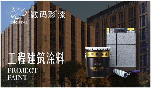 """""""墙""""烈推荐""""中国十大品牌"""":数码彩涂料"""
