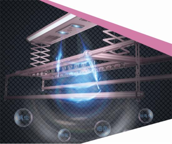 产品评测:晾霸极光Q4声控除螨晾衣机