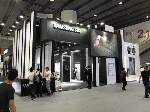 著名品牌三星智能锁 亮相第21届中国建博会