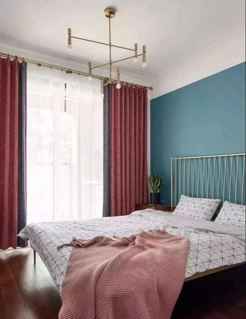 窗帘色彩搭配得好 家居更出彩!