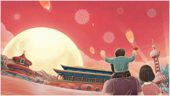 中秋国庆双节特辑:索菲亚指纹锁许你最好的守护