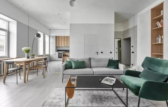 地板颜色选得好 家居颜值蹭蹭上涨
