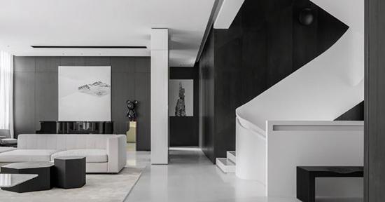 玩转黑白的魅力,演绎完美的简约家居范儿